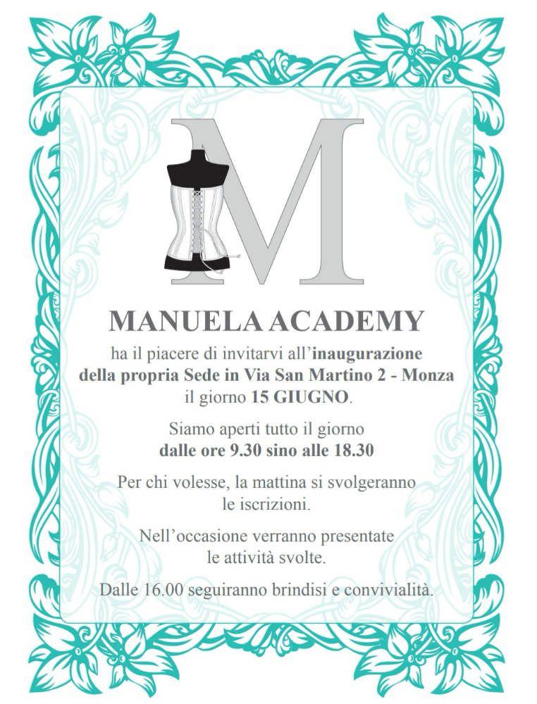 Invito Manuela Academy